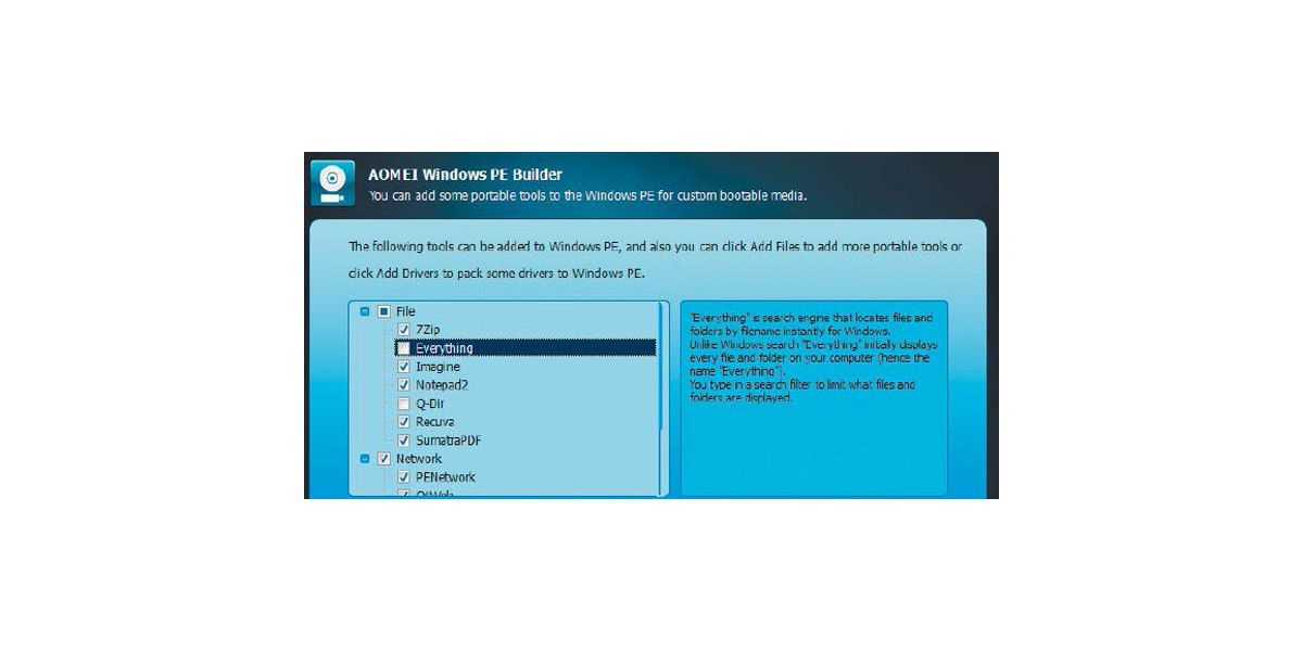 Workshop: Datenrettungs-Stick mit Aomei PE Builder erstellen