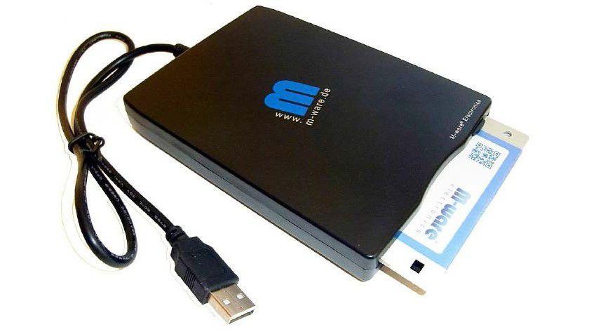 Alte Disketten sichten und kopieren: Preisgünstige externe Laufwerke machen alte 3,5-Zoll-Disketten wieder lesbar.
