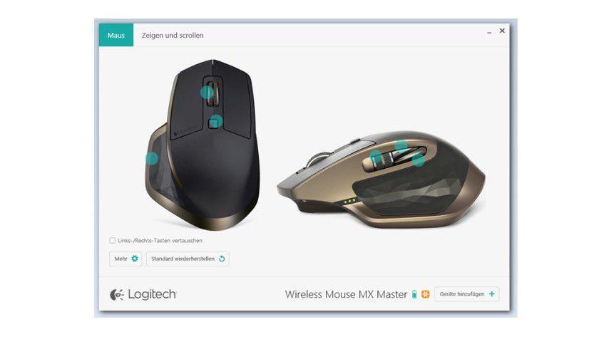 Sowohl auf dem Mac, als auch auf dem Windows-PC sieht der Treiber komplett gleich aus und lässt sich auch so bedienen. Die Einstellungen lassen sich intuitiv regeln, die Software ist übersichtlich aufgebaut.