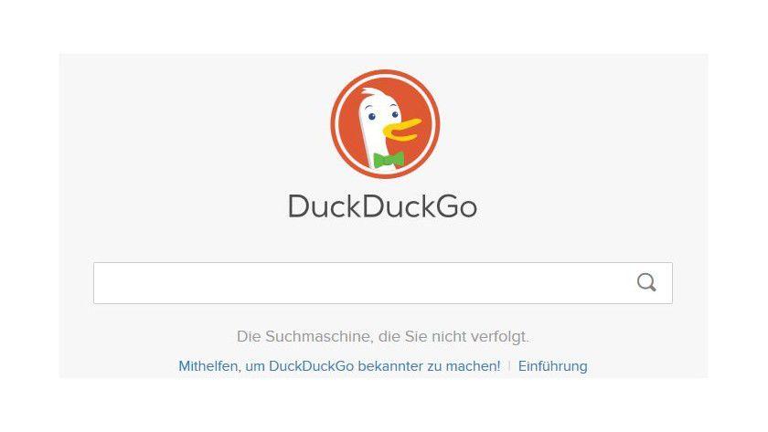 DuckDuckGo ist nur eine von mehreren Suchalternativen zu Google: Qwant, Ixquick, MetaGer und DuckDuckGo versprechen mehr Privatsphäre als der große US-Konzern.