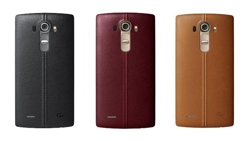 Das G4 kommt in insgesamt 3 verschiedenen Leder-Farbvarianten auf den deutschen Markt.