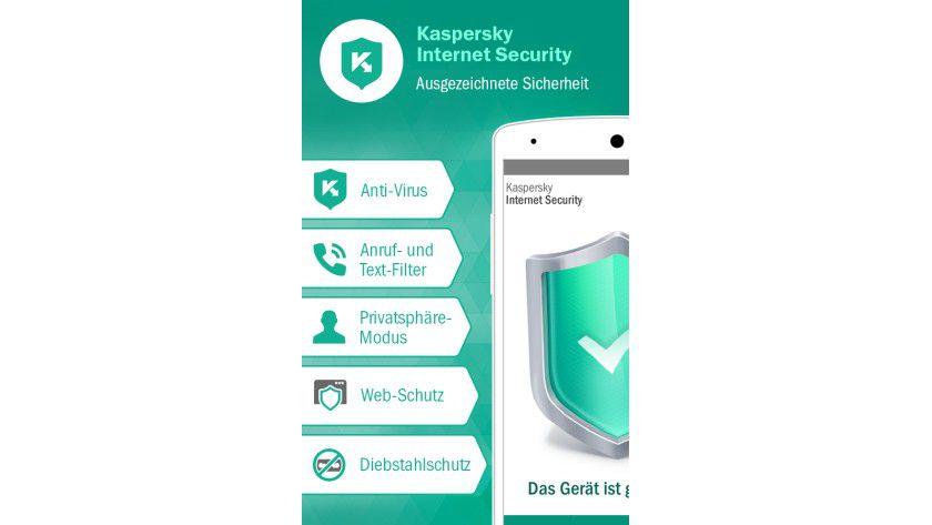 Umfassende Sicherheit: Das Programm bietet automatische Untersuchungen heruntergeladener Apps auf Viren, Würmer, Trojaner und andere Schadsoftware-Infektionen