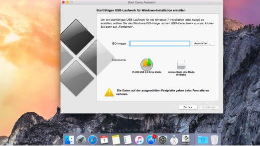 Apple Boot Camp für Mac OS X: Windows 10 auf dem Mac installieren - Foto: Thomas Joos