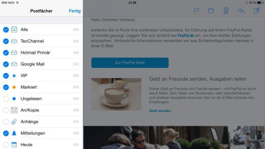 iPhone / iPad: iOS an Exchange und Office 365 anbinden