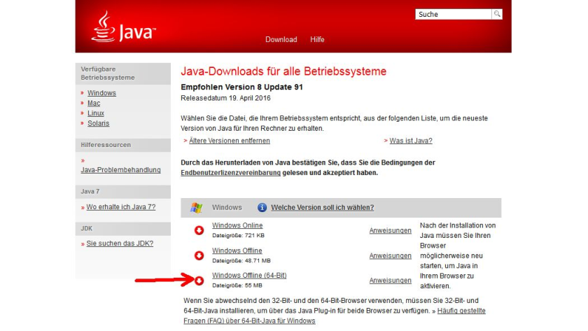 Office-Suite LibreOffice x64: Problem einer angeblich