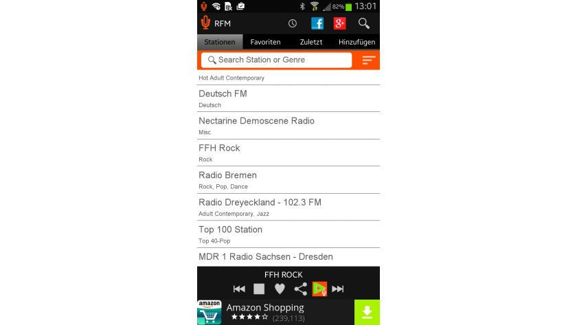 Android-Apps für Internetradio gibt es zuhauf. Zusätzlich brauchen Sie nur noch ein kleines Lautsprechersystem für zehn Euro aufwärts.