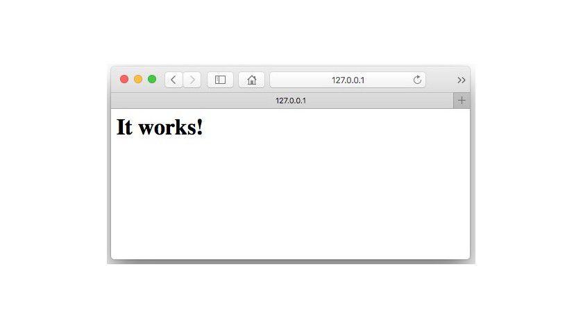 OS X kommt mit einem eingebauten Apache-Webserver. Der allerdings muss erst gestartet und eingerichtet werden