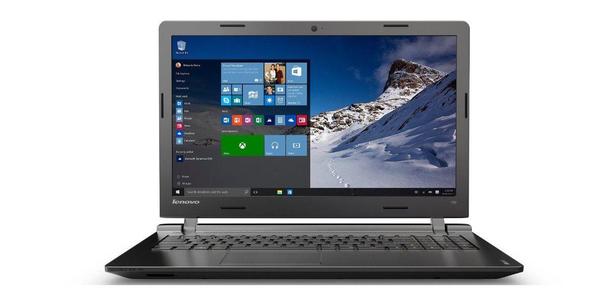 Notebook Lenovo Ideapad 100 15iby Im Test Tecchannel Workshop