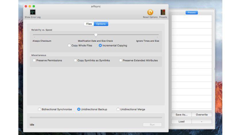 Mit arRsync können Anwender kostenlos Verzeichnisse miteinander synchronisieren lassen.