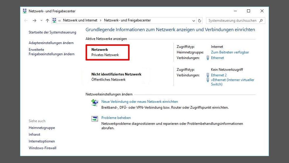 Windows 10 Netzwerk Netzwerknamen Unter Windows ändern