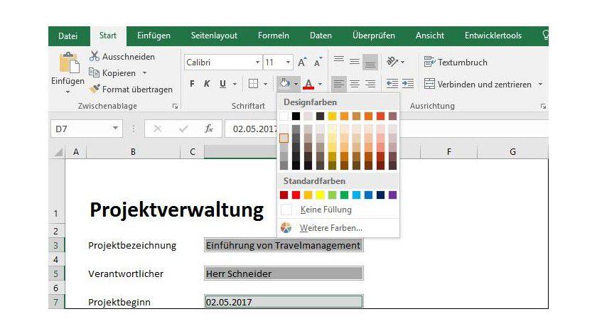 Microsoft Office Vorlagen In Microsoft Excel 2016 Und 2013