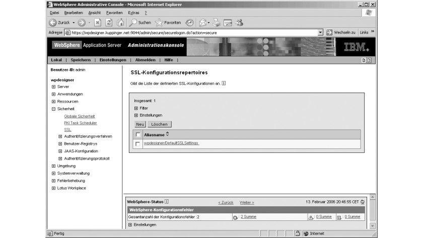 SSL-Konfiguration beim Workplace - TecChannel Workshop