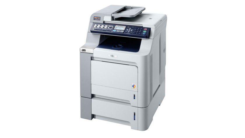 Brother MFC-9440CN: Das Multifunktionsgerät soll bis zu 20 Seiten pro Minute in Farbe produzieren. (Quelle: Brother)