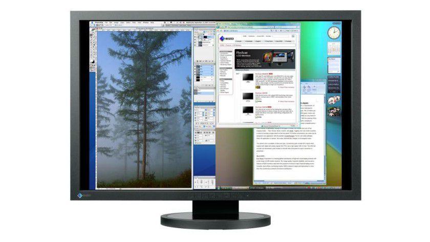 Eizo SX3031W: Das 30-Zoll-Display arbeitet mit 2560 x 1600 Bildpunkten. (Quelle: Eizo)