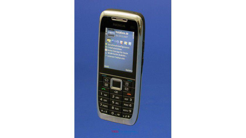 Schickes Design: Das E51 ist leicht, schick und schmal und bietet aktuelle Technik im Inneren.