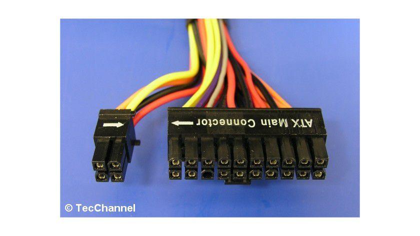 Mainboard-Power-Stecker 24-polig - Stecker-Spezifikationen bei ATX ...