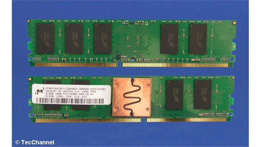 FB-DIMM-Module: Die FB-DIMM-Speichertechnologie hat gegenüber herkömmlichen Registered-DIMMS zahlreiche Vorteile, aber auch einige entscheidende Nachteile.