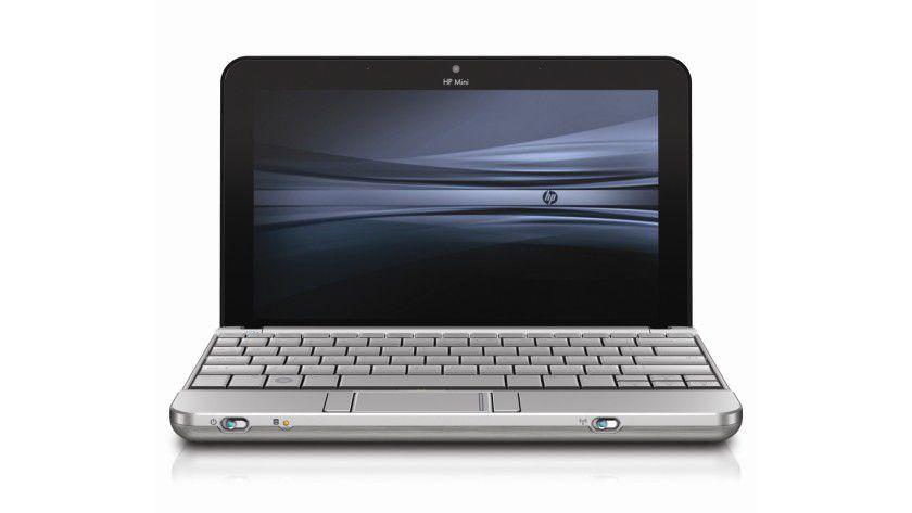 HP Mini 2140 Notebook PC: Das 10-Zoll-Display arbeitet mit 1366 x 768 Bildpunkten und LED-Hintergrundbeleuchtung. (Quelle: Hewlett Packard)