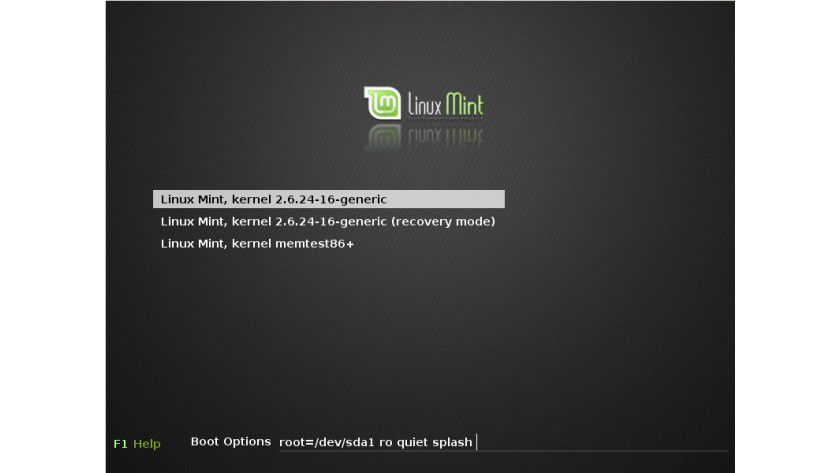 "Linux Mint 5: ""from freedom came elegance"" ist das Motto der Entwickler."