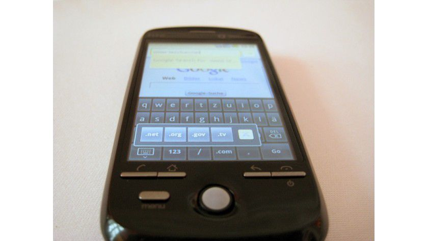 Android bei Vodafone: Das neue HTC Magic.
