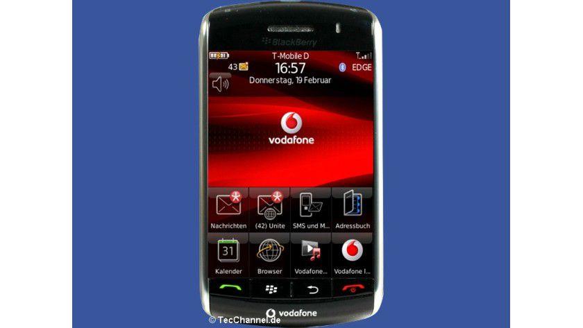 BlackBerry Storm: RIM liefert erstmals einen BlackBerry mit Touchscreen aus.