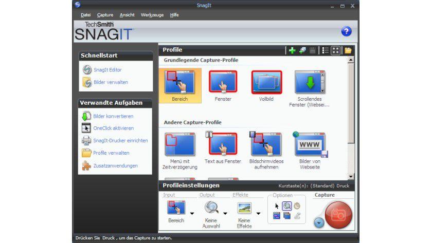 SnagIt: Mehr als nur ein Screenshot-Tool.