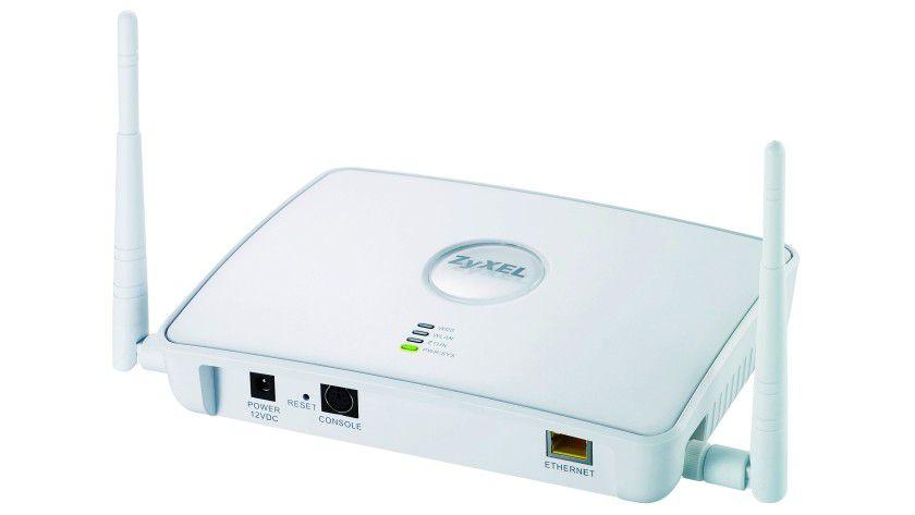 Multitalent: Der Zyxel NWA3160 kann als Access-Point und als WLAN-Controller arbeiten.