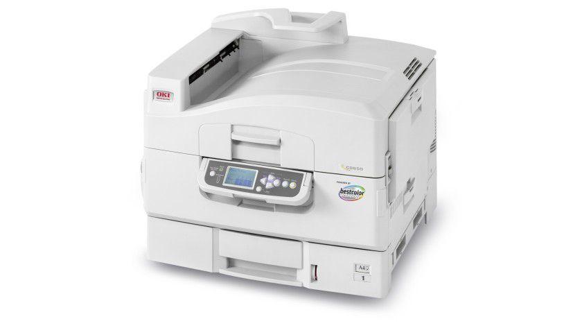 Oki C9650eXpress: Das A3-fähige Farbgerät soll bei farbgenauen Druckanforderungen zum Einsatz kommen. (Quelle: Oki)