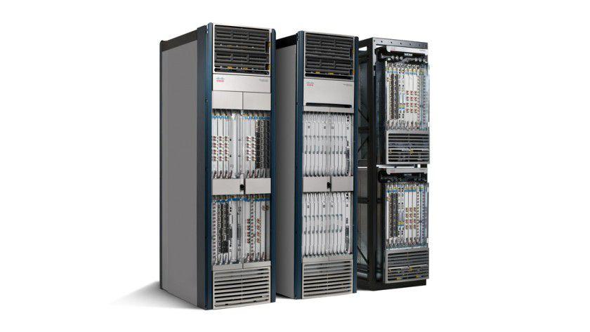 Ciso CRS-3: Das Routing System soll mit seinen 322 Terabit pro Sekunde das Internet von morgen ermöglichen. (Quelle: Cisco)