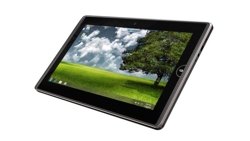 Asus Eee Pad EP121: Intels CULV-Plattform und Windows 7 Home Premium sollen dem 12-Zoll-Gerät zugrunde liegen. (Quelle: IDGNS Taipei, Asus)