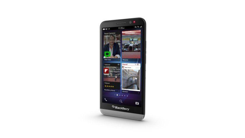 Der BlackBerry Z30.
