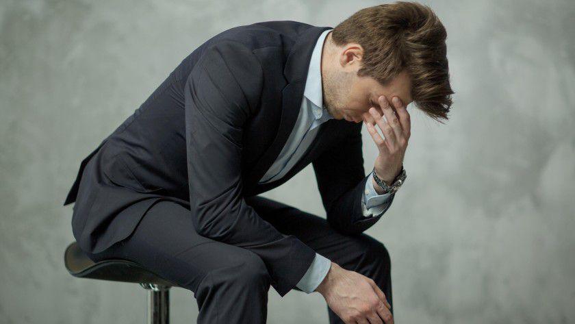 Wer zu sehr gestresst ist, kann im Burnout landen.