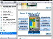 Dropbox: Das App bietet Zugriff auf synchronisierte Dateien über einen Web-Speicher.