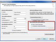 Zugewinn: Outlook 2010 unterstützt mehrere pst-Dateien.