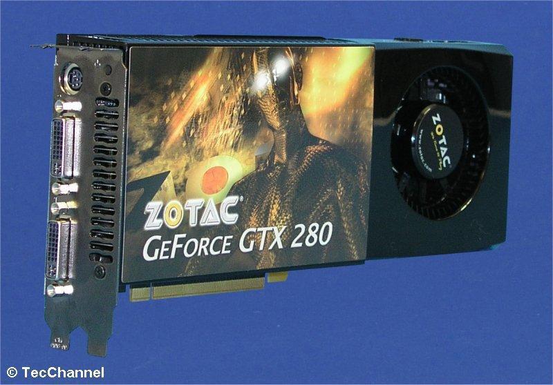 Der 3D-Thronfolger: Die GeForce GTX 280 von Nvidia greift mit circa 1,4 Milliarden Transistoren nach der 3D-Performance-Herrschaft.