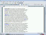 Universell: Abiword gibt es für Windows, Linux und MacOS X.